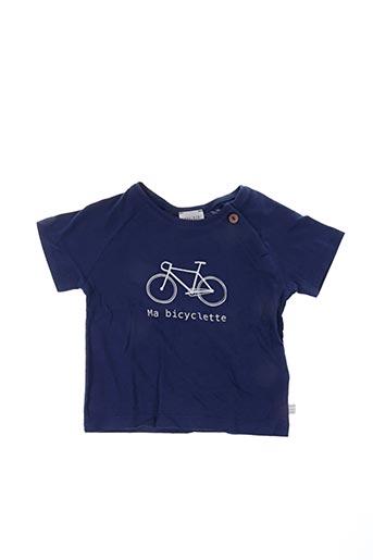 T-shirt manches courtes bleu CARREMENT BEAU pour enfant
