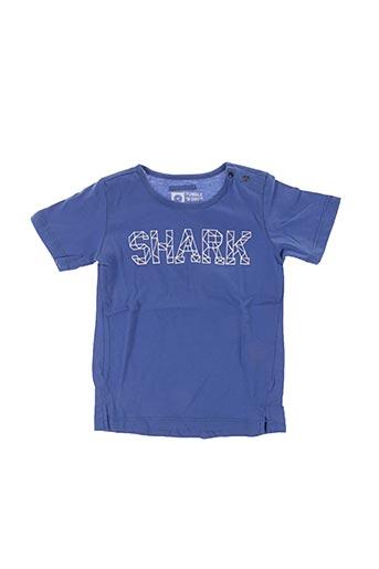 T-shirt manches courtes bleu TUMBLE'N DRY pour enfant