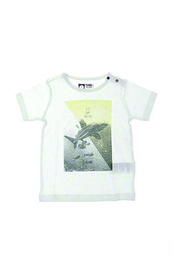 T-shirt manches courtes jaune TUMBLE'N DRY pour enfant