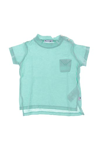 T-shirt manches courtes vert MON MARCEL pour enfant