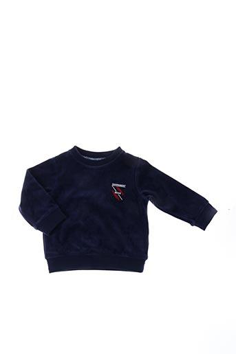 Sweat-shirt bleu CARREMENT BEAU pour garçon