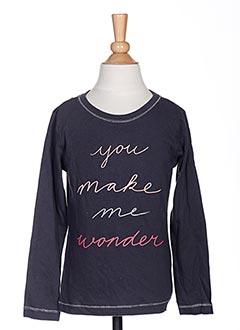 T-shirt manches longues gris TUMBLE'DRY pour fille