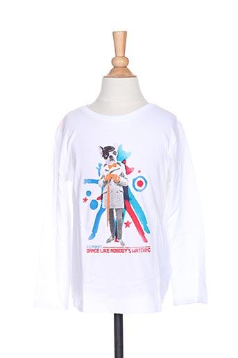 T-shirt manches longues blanc BILLYBANDIT pour garçon