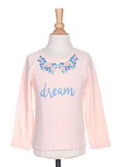 T-shirt manches longues rose BILLIEBLUSH pour fille seconde vue