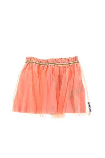 Jupe mi-longue orange TUMBLE'N DRY pour fille