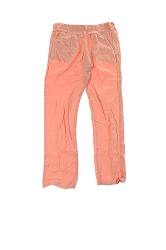 Pantalon casual orange CARREMENT BEAU pour fille