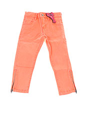 Pantalon casual orange BILLIEBLUSH pour fille seconde vue