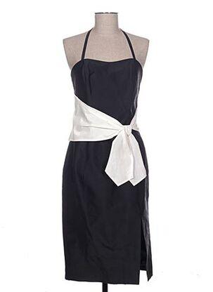 Robe mi-longue noir DEELLE BOUTIQUE pour femme
