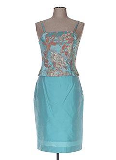 Top/jupe bleu DEELLE BOUTIQUE pour femme