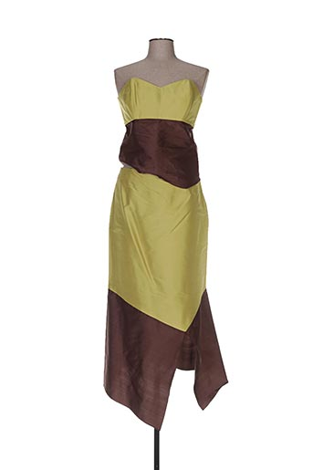 Veste/jupe vert ELSA GARY pour femme