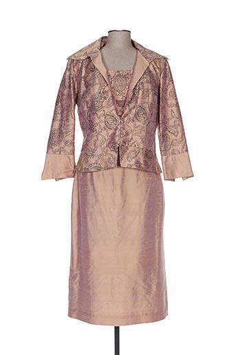 Veste/robe beige CLAIRMODEL pour femme