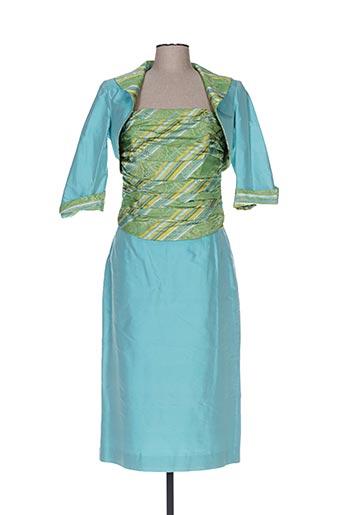 Veste/robe bleu CLAIRMODEL pour femme
