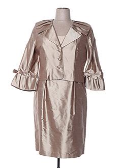 Veste/robe beige MALOU MANAY pour femme