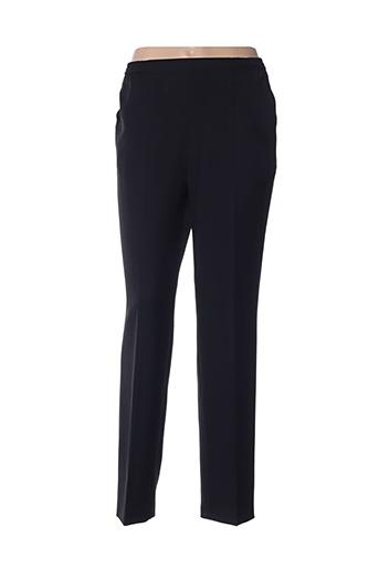 Pantalon casual noir FASHION COLLECTION pour femme