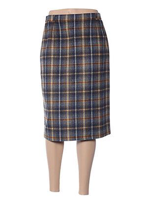 Jupe mi-longue bleu DEELLE BOUTIQUE pour femme