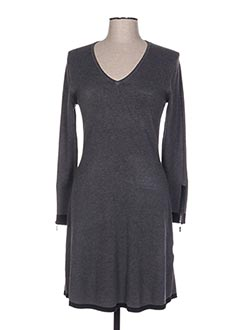 Robe pull gris MARBLE pour femme