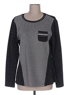 Sweat-shirt noir DIVAS pour femme