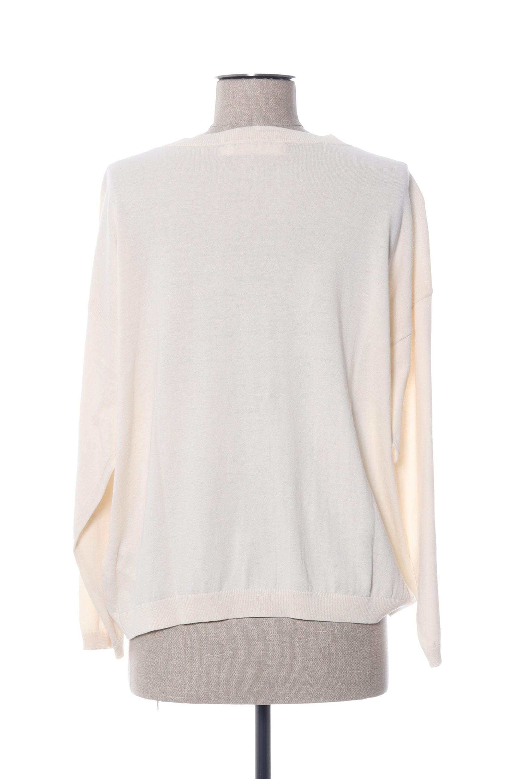 Nice Things Cardigans Femme De Couleur Beige En Soldes Pas Cher 1423605-beige0