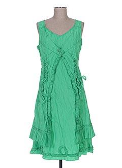 Robe mi-longue vert FRANSTYLE pour femme