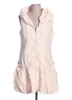 Robe courte orange FRANSTYLE pour femme