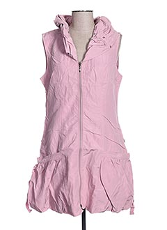 Robe courte rose FRANSTYLE pour femme