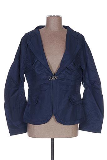 Veste chic / Blazer bleu FRANSTYLE pour femme