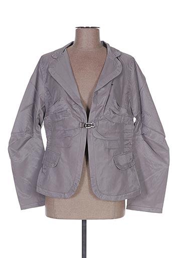 Veste chic / Blazer gris FRANSTYLE pour femme