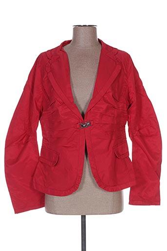 Veste chic / Blazer rouge FRANSTYLE pour femme