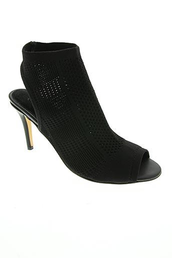 Sandales/Nu pieds noir ELUE PAR NOUS pour femme