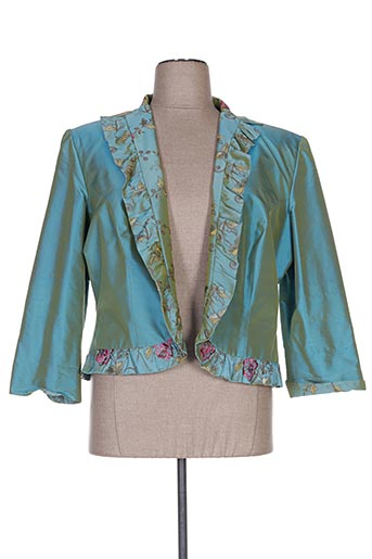 Veste chic / Blazer bleu CLAIRMODEL pour femme