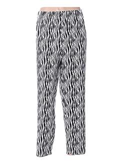 Pantalon 7/8 noir TWISTER pour femme