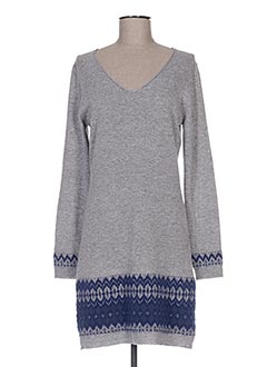 Robe pull gris ET COMPAGNIE pour femme