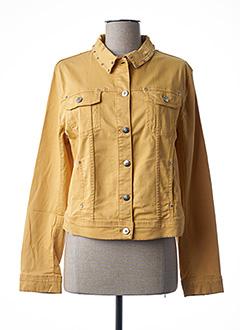 Veste casual jaune FUEGO WOMAN pour femme
