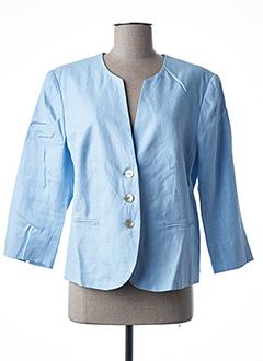 Veste chic / Blazer bleu WHITE LABEL pour femme