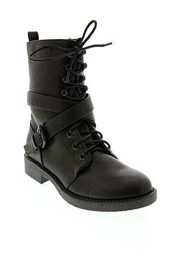 Bottines/Boots noir GOLD & GOLD pour femme
