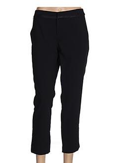 Pantalon 7/8 noir ET COMPAGNIE pour femme