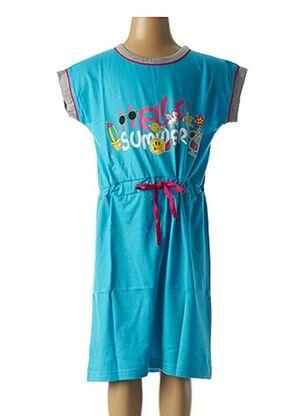 Chemise de nuit bleu ROSE POMME pour fille