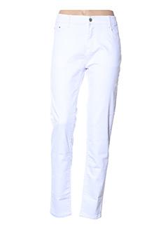 Pantalon casual blanc BIG SPADE pour femme