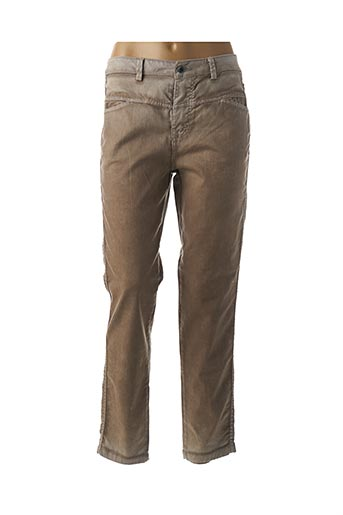 Jeans coupe droite beige PAKO LITTO pour femme