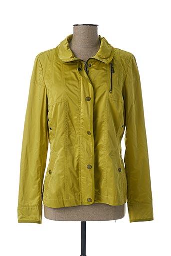 Veste casual vert REVER MILE pour femme