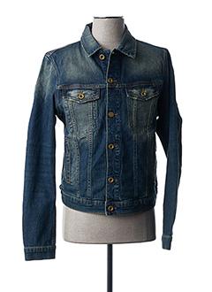Veste en jean bleu DIESEL pour homme