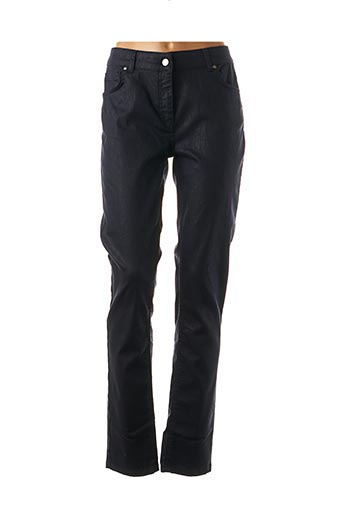 Pantalon casual bleu LAUREN VIDAL pour femme