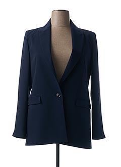 Veste chic / Blazer bleu EDAS pour femme
