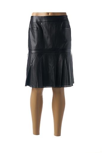 Jupe mi-longue noir CHOKOLAT pour femme