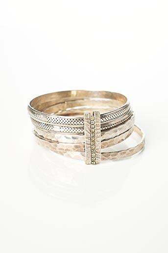 Bracelet Jonc rose GAS pour femme
