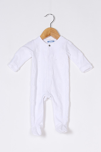 Pyjama blanc JACADI PARIS pour enfant