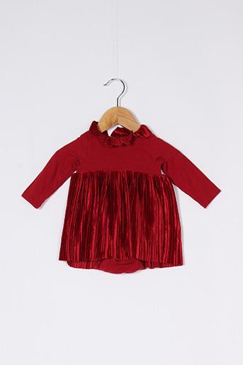 Robe mi-longue rouge H&M pour fille