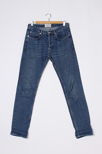 Jeans coupe slim bleu SANDRO pour homme