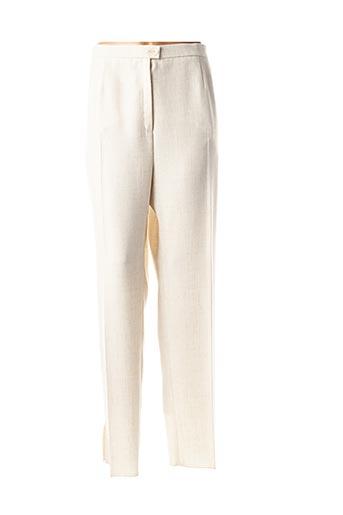 Pantalon 7/8 beige KARTING pour femme