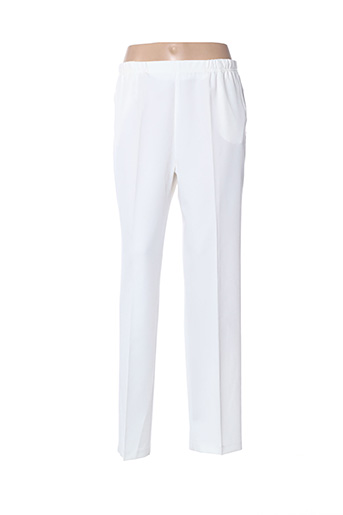 Pantalon chic blanc QUATTRO pour femme
